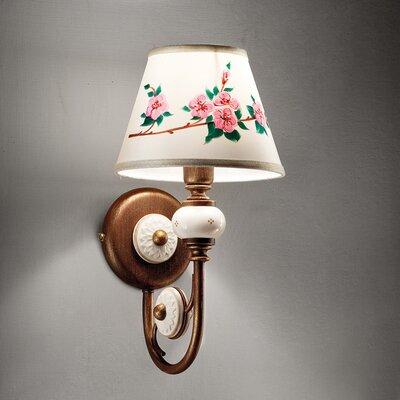 Ferroluce Biella 1 Light Swing Arm Wall Lamp