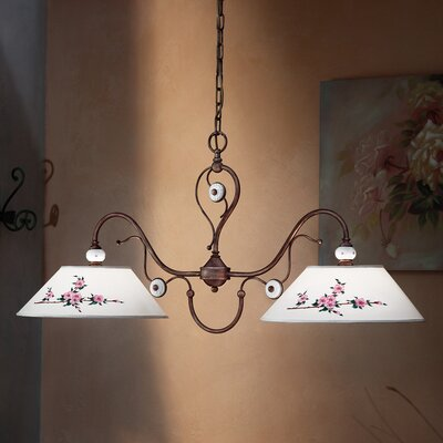 Ferroluce Biella 2 Light Bar Pendant Lamp
