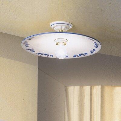 Ferroluce Torino 1 Light Ceiling Light