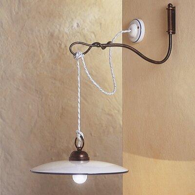 Ferroluce Torino 1 Light Wall Light