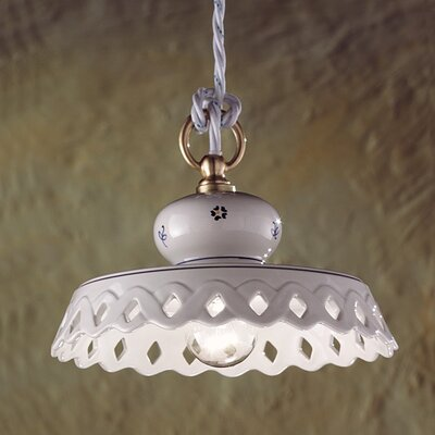 Ferroluce Perugia 1 Light Mini Pendant Lamp