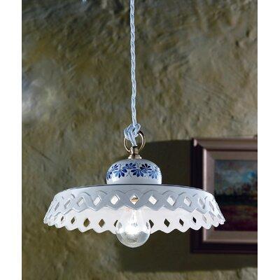 Ferroluce Perugia 1 Light Bowl Pendant Lamp