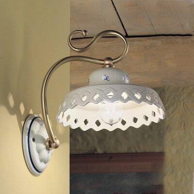 Ferroluce Perugia 1 Light Wall Light
