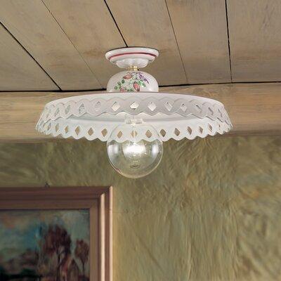 Ferroluce Perugia 1 Light Ceiling Light