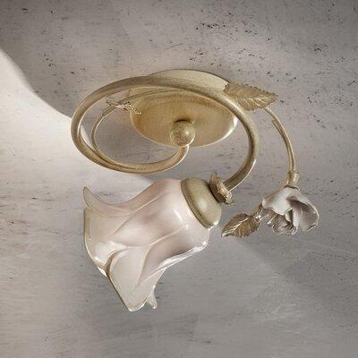 Ferroluce Firenze 1 Light Semi Flush Light
