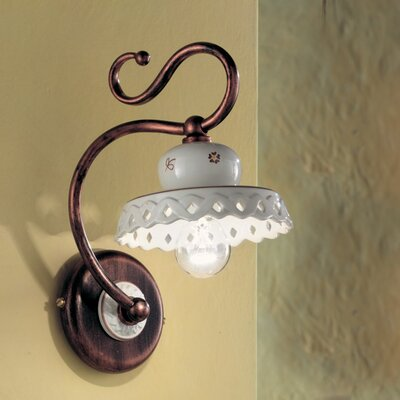 Ferroluce Perugia 1 Light Wall Light