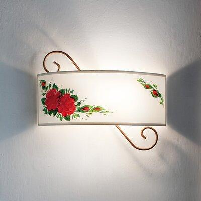 Ferroluce Salerno 1 Light Wall Sconce