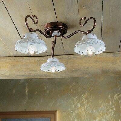 Ferroluce Perugia 3 Light Ceiling Light
