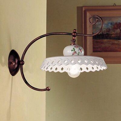 Ferroluce Perugia 1 Light Swing Arm Wall Lamp