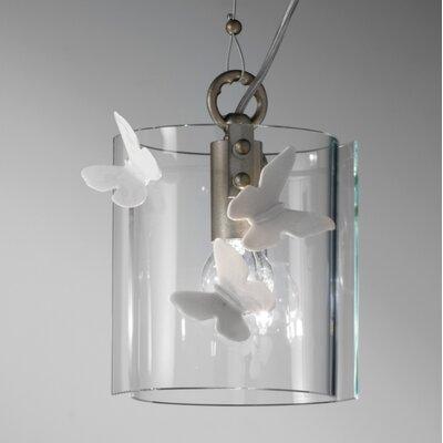 Ferroluce Alba 1 Light Mini Pendant Lamp