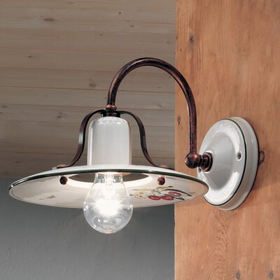 Ferroluce Bologna 1 Light Wall Sconce