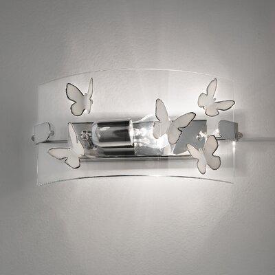 Ferroluce Alba 1 Light Wall Sconce