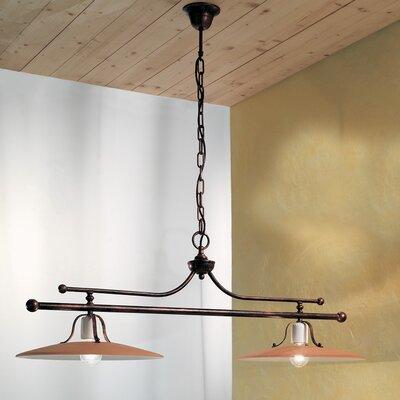 Ferroluce Bologna 2 Light Bar Pendant Lamp