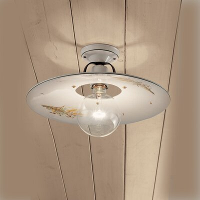 Ferroluce Bologna 1 Light Ceiling Light