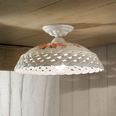 Ferroluce Verona 1 Light Ceiling Light