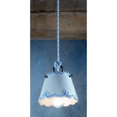 Ferroluce Ravenna 1 Light Mini Pendant Lamp