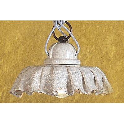 Ferroluce Modena 1 Light Bowl Pendant Lamp