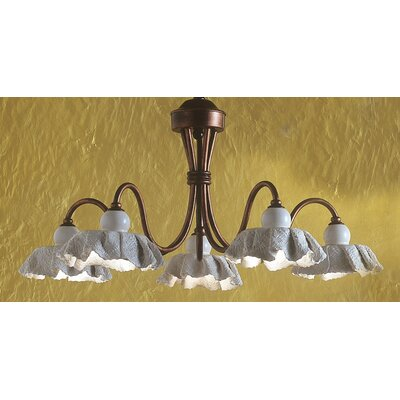 Ferroluce Modena 5 Light Chandelier