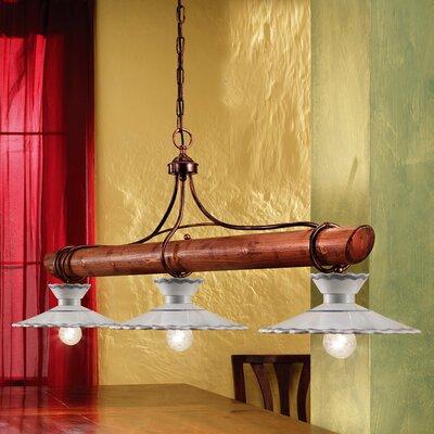Ferroluce Ravenna 3 Light Bar Pendant Lamp