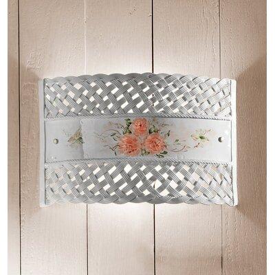 Ferroluce Verona 1 Light Wall Lamp