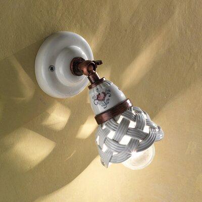 Ferroluce Verona 1 Light Wall Spotlight