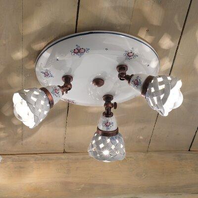 Ferroluce Verona 3 Light Ceiling Spotlight