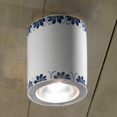 Ferroluce Trieste 1 Light Ceiling Light