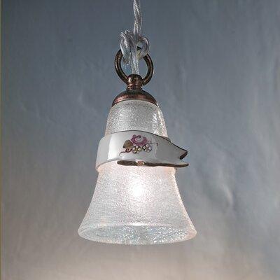 Ferroluce Venezia 1 Light Bowl Pendant Lamp