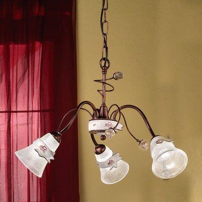 Ferroluce Venezia 3 Light Chandelier