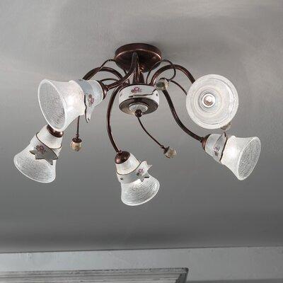 Ferroluce Venezia 5 Light Ceiling Light