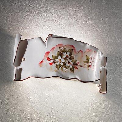 Ferroluce Milano 1 Light Wall Sconce