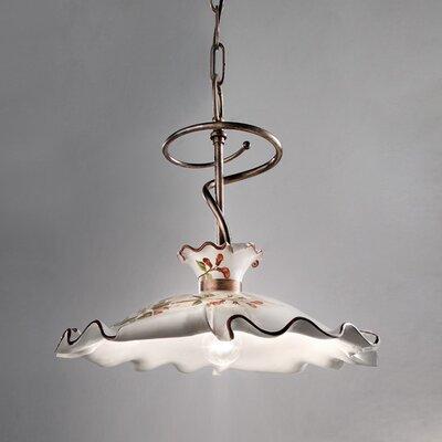 Ferroluce Milano 1 Light Bar Pendant Lamp