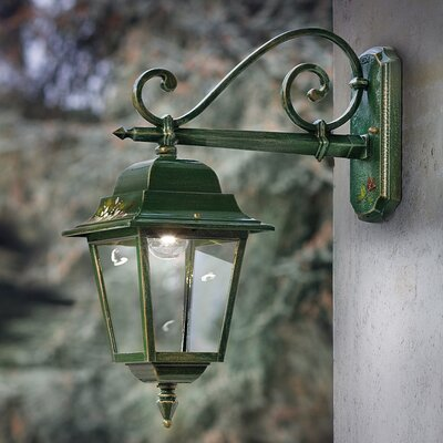 Ferroluce Gorizia 1 Light Wall Lantern