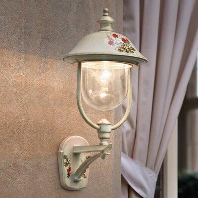 Ferroluce Bari 1 Light Wall Lantern