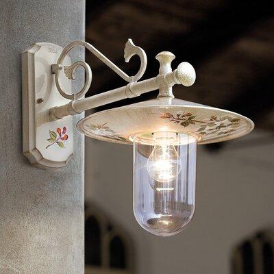 Ferroluce Genova 1 Light Wall Light