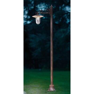 Ferroluce Genova 1 Light 220cm Post Lantern