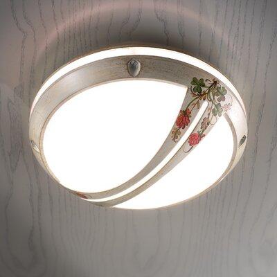 Ferroluce Brindisi 1 Light Ceiling Light