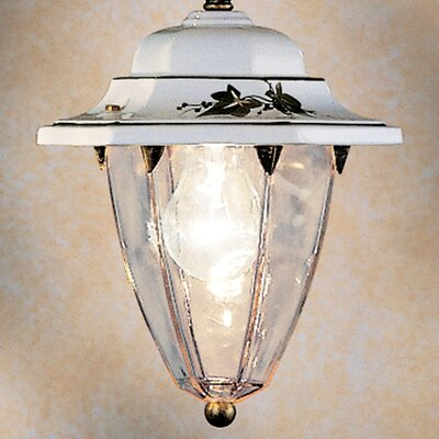 Ferroluce Arezzo 1 Light Mini Pendant Lamp