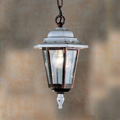 Ferroluce Arezzo 1 Light Outdoor Pendant Lamp