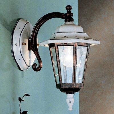 Ferroluce Arezzo 1 Light Wall Lantern