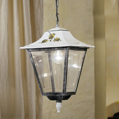 Ferroluce Gorizia 1 Light Outdoor Pendant