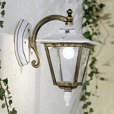 Ferroluce Gorizia 1 Light Wall Lantern