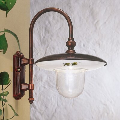 Ferroluce Latina 1 Light Wall Light