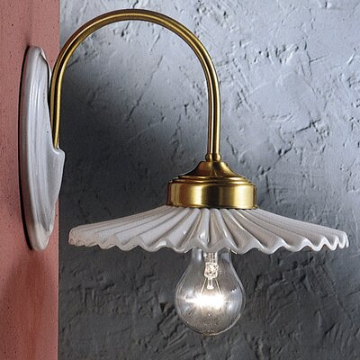 Ferroluce L'aquila 1 Light Classic Wall Lamp