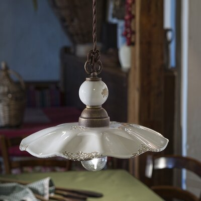 Ferroluce Sirmione 1 Light Mini Pendant