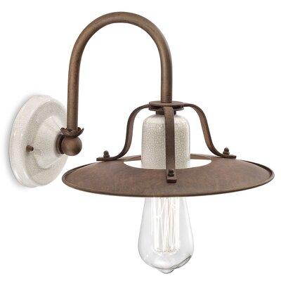 Ferroluce Grunge 1 Light Wall Lamp