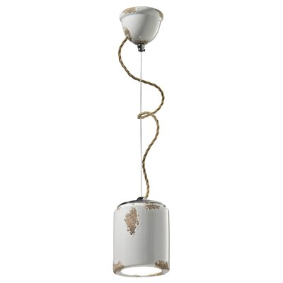 Ferroluce 1 Light Mini Pendant