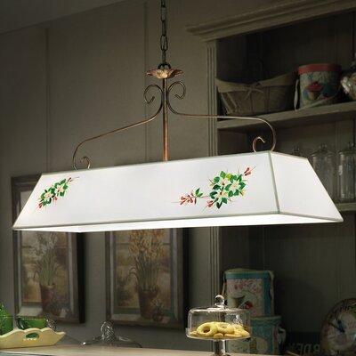 Ferroluce Salerno 2 Light Bar Pendant Lamp