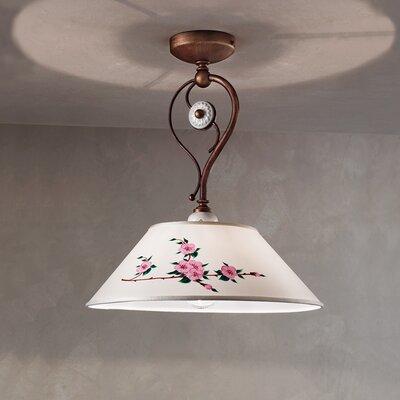 Ferroluce Biella 2 Light Bowl Pendant Lamp