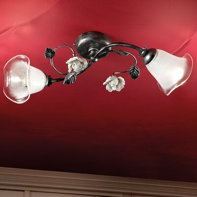 Ferroluce Siena 2 Light Ceiling Light